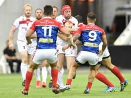 England vs France RLWC2017