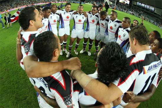 Fiji v Australia in 2008