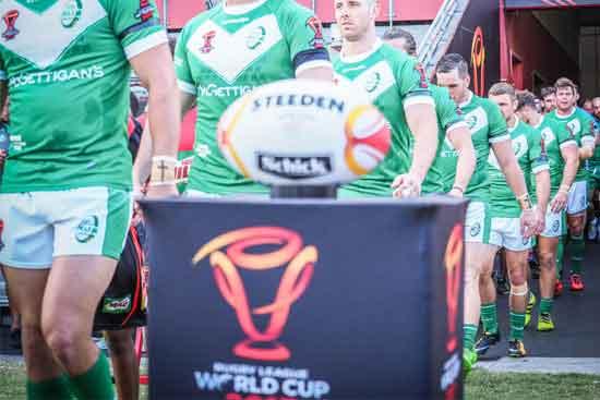 Wales vs Ireland RLWC2017
