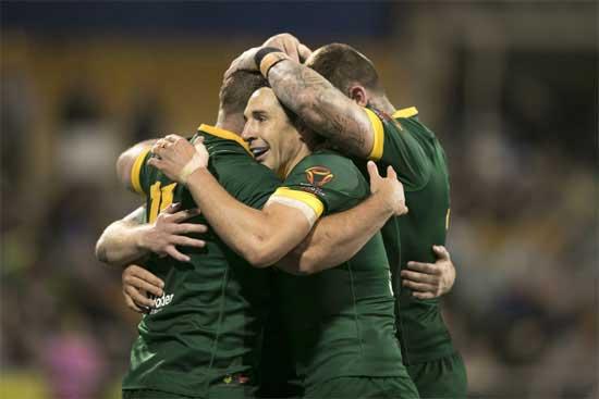 Australia v Lebanon RLWC2017