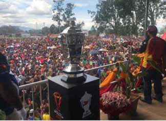 PNG Sellout for 2nd RLWC match