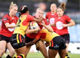 2017 Womens RLWC - PNG vs Canada