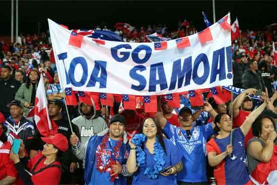 Deadly Roos vs RL Samoa Qld