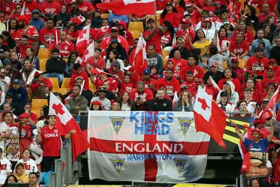 Tonga vs England RLWC