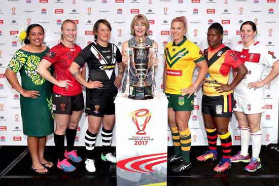 2017 Rugby League Women's World Cup Launched