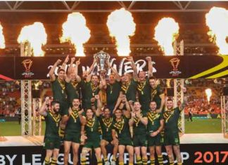 Australia 2017 RLWC Winners
