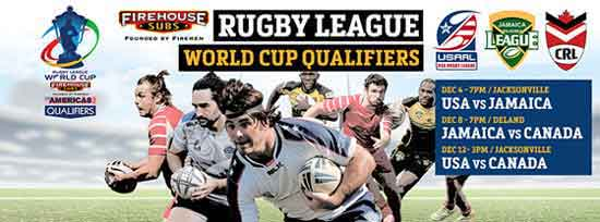 Americas 2017 Rugby League World Cup Qualifiers