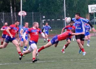 Russia v Serbia and Rugby League match