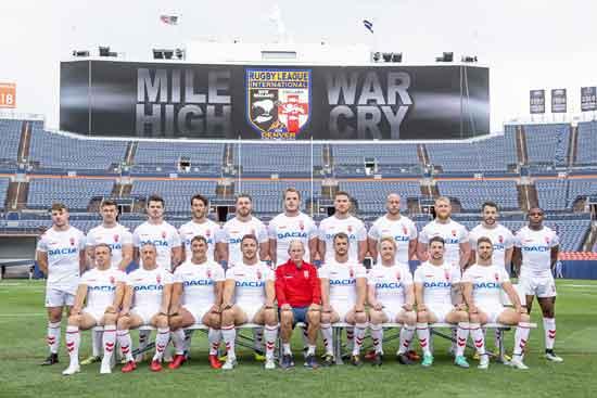 England Rugby League Team for Denver