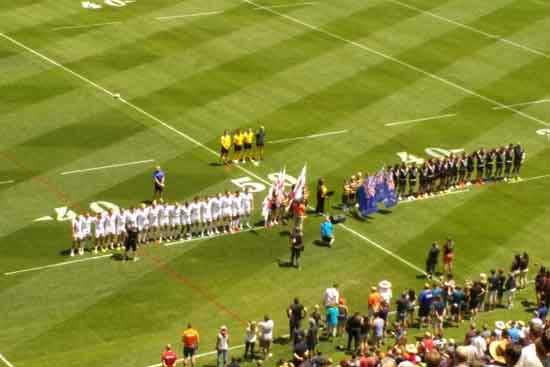 England v New Zealand Denver Test