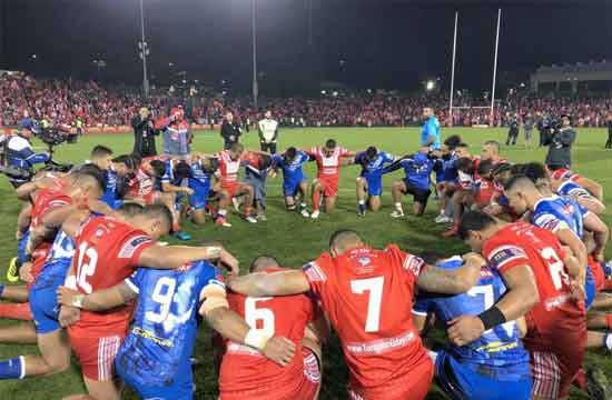 Tonga v Samoa 2018