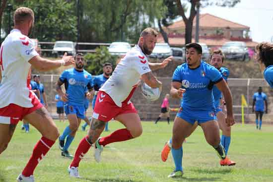 North West English Lionhearts concluded their Italian tour with a third resounding victory