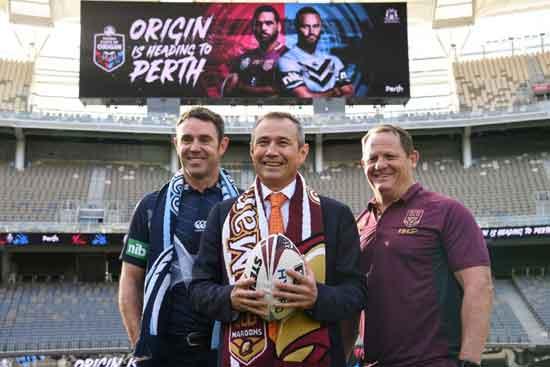 2019 State of Origin Game 2 in Perth