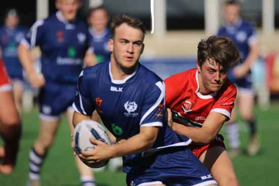 Scotland v Wales in 2018 Student Home Nations