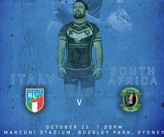 South Africa v Italy 2018