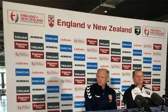 England v New Zealand 2018