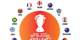 16 Teams confirmed for the 2021 Rugby League World Cup