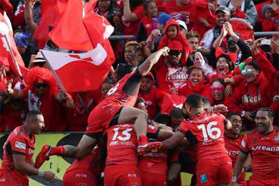 Tonga v Australia