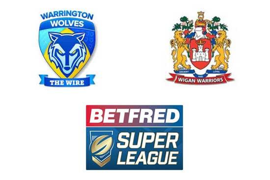 Wigan Warriors v Warrington Wolves