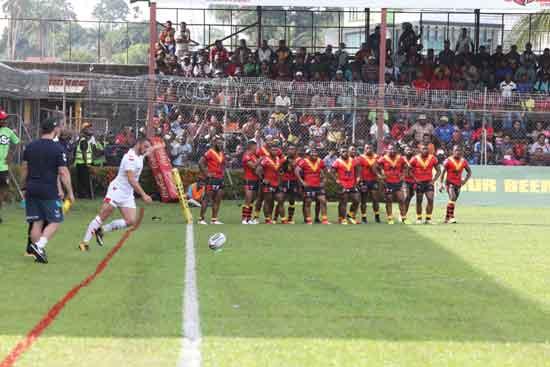 England Knights v PNG Kumuls