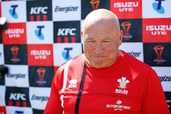 John Kear Wales Coach