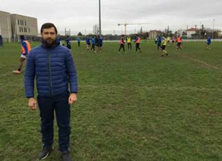 Russia Rugby League Coach Denis Korolev
