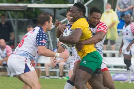 Jamaica Rugby League v USA