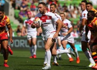 England v PNG in RLWC