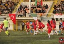 Turkey held on to overcome Italy 18-14 in a pulsating women's international