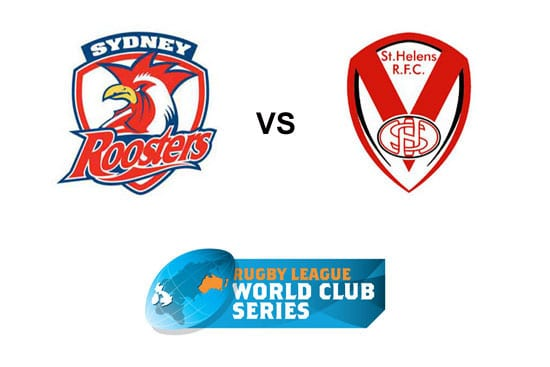 2020 World Club Challenge St Helens vs Roosters