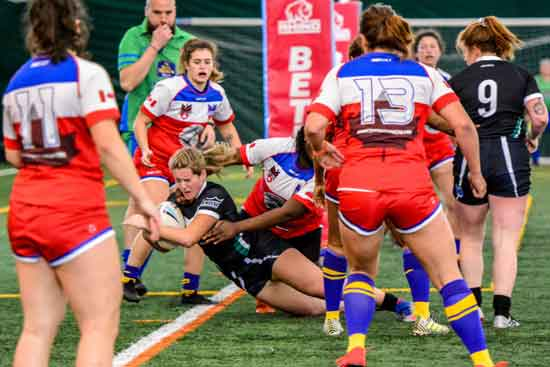 Canada Rugby League East v West