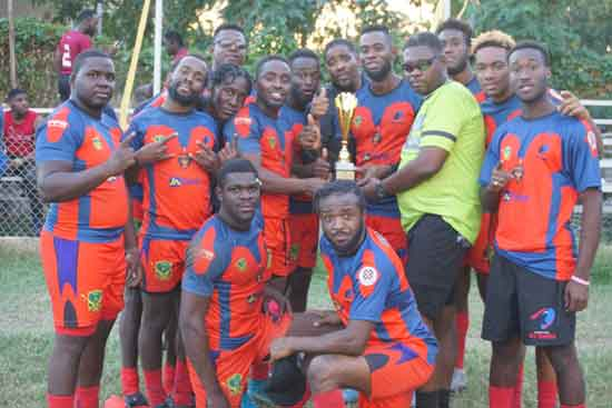 Duhaney Park Red Sharks were crowned champions