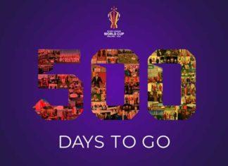 RLWC 2021 500 days to go