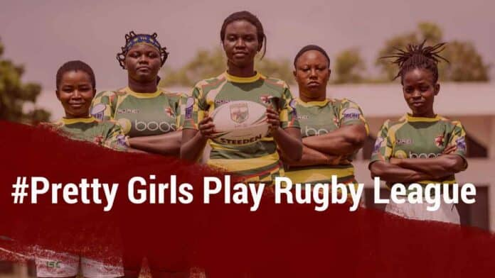 Pretty Girls Play Rugby League' campaign