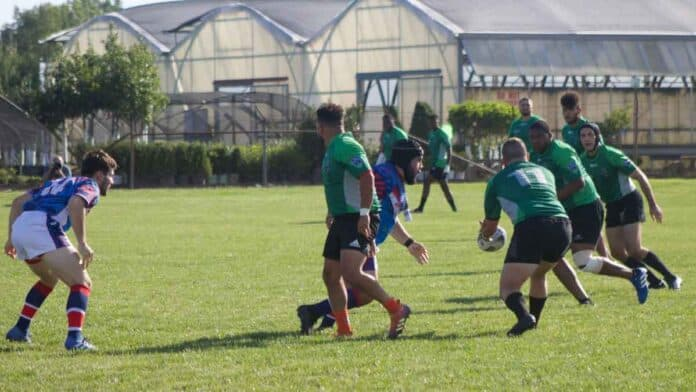 Cleveland v NOVA in rugby league exhibition match