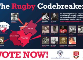 Honouring the Cardiff Bay Rugby Codebreakers
