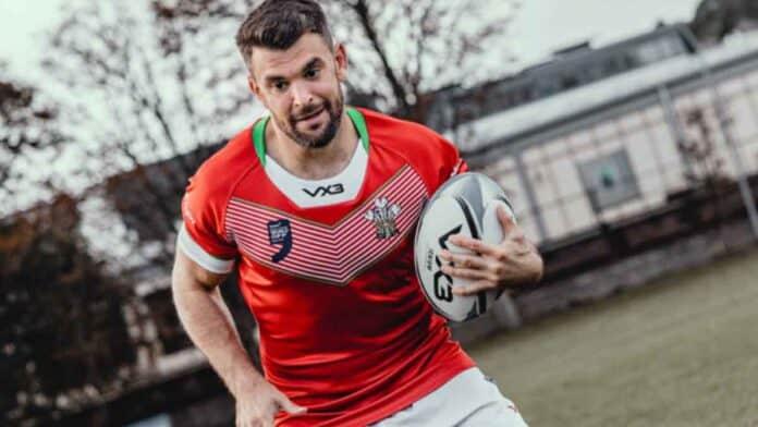 Elliot Kear Wales Captain
