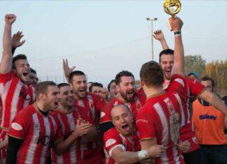 Red Star Belgrade celebrate 2020 Grand Final win