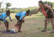 Ghana women Rugby League 2021