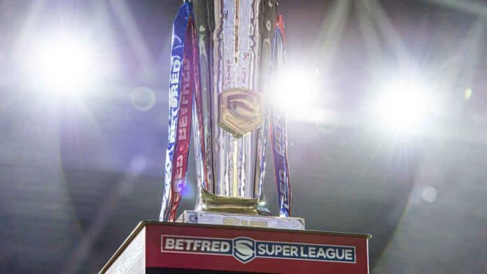 Betfred Super League trophy