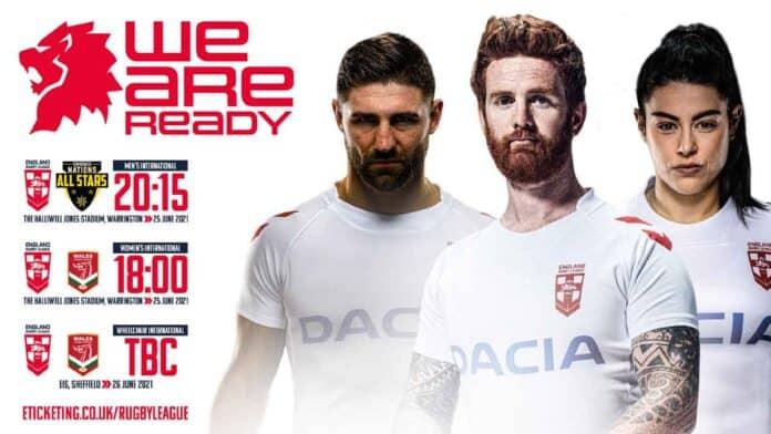 England Wales All Stars 2021 International