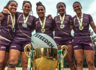 Melina team celebration