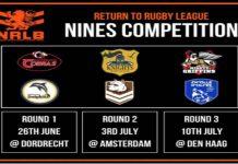 Netherlands rugby league return