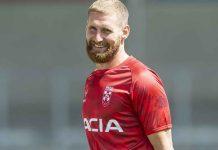 England Captain Sam Tomkins