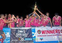 Ghana 2021 Rugby League Championship Winners